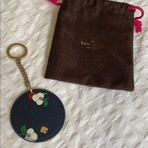 Kate Spade Leather Keychain